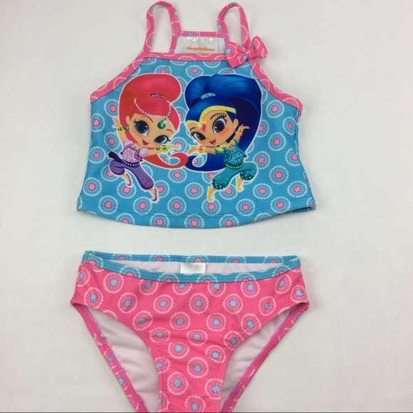 3e8b859ab3b92 Nickelodeon Swim | Girls Shimmer And Shine Suit | Poshmark